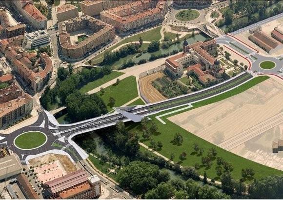 Construcción de Nuevo Puente y Glorieta de Cuatrovientos – Pamplona