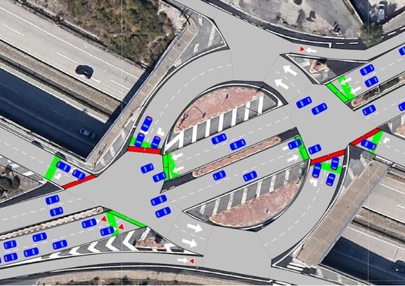 Estudio de Tráfico sobre los Accesos Exteriores a la Urbanización prevista  en el PSIS de Guendulain