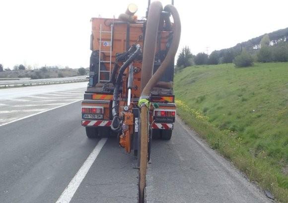 Instalación fibra óptica. Proy. III-Tramos I Interconexión:  Pamplona -Puente La Reina